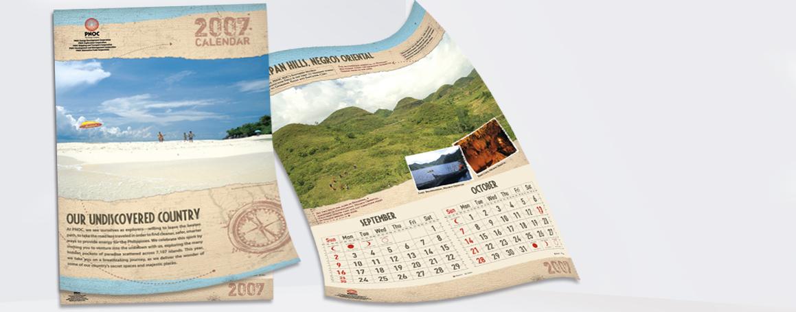 Billedkalender 2mdr pr blad