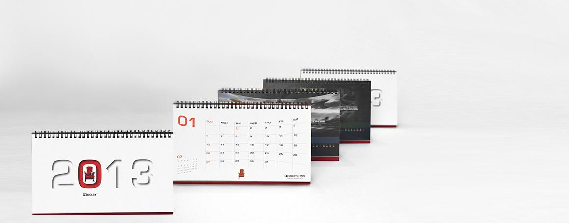 Bordkalender - 1 mdr pr blad